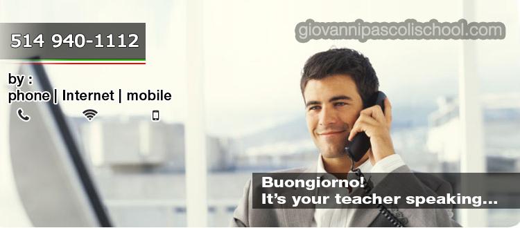online distance italian courses